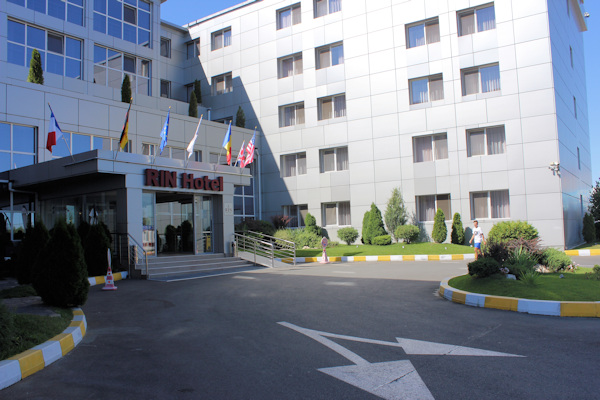 RIN Hotel **** in Bukarest am Airport